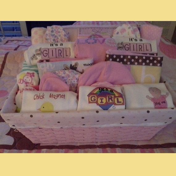 Kid babies girl or boy screen onesie baskets girl or boy screen onesie baskets negle Choice Image